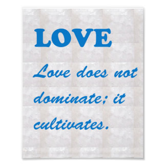 LOVE Cultivates : Words Wisdom Pink by NAVIN JOSHI Photographic Print