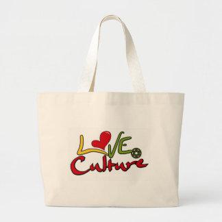 LOVE-CULTURE-LOGO-02 JUMBO TOTE BAG