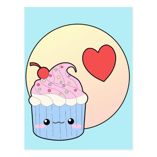 Love Cupcake Postcard