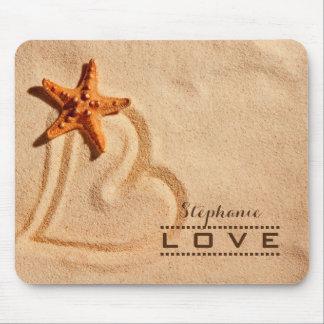 Love. Custom Name Valentine's Day Gift Mousepads