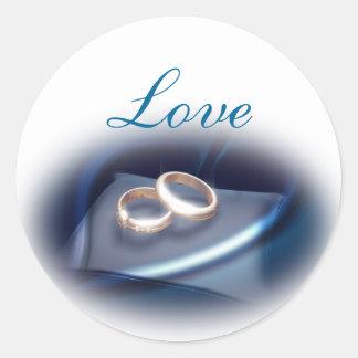 love_custom round sticker
