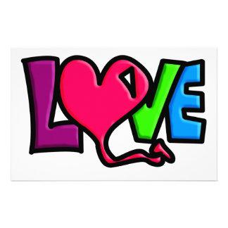 LOVE CUSTOMISED STATIONERY