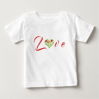 Love ~ Cute Baby Fine Jersey T-Shirt