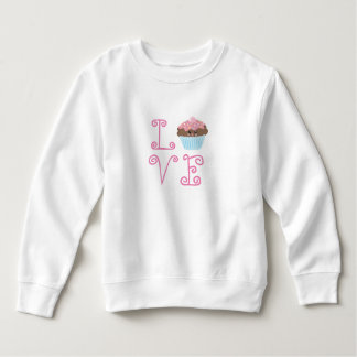 Love Cute Kawaii Cupcake Sweatshirt