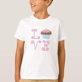 Love Cute Kawaii Cupcake T-Shirt