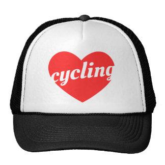 Love Cycling. Bike themed gift Cap