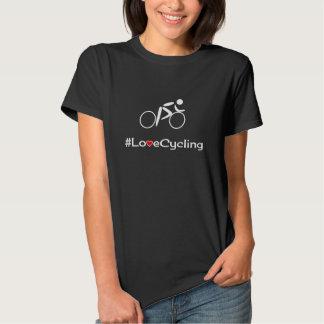 Love Cycling slogan cyclist Shirt