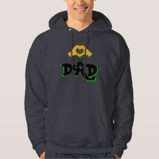 ♫♥Love Dad Stylish Unisex Hooded Sweatshirt♥♪ Hooded Pullover