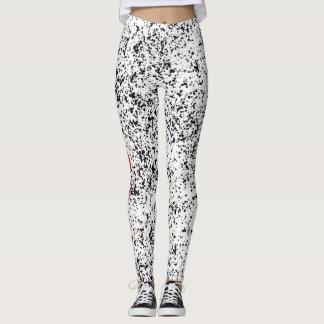 Love Dalmatian Black Spotted Leggings