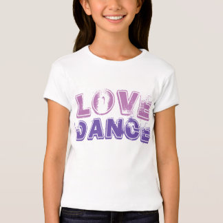 Love Dance Girls Tshirt