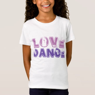 Love Dance Girls Tshirt