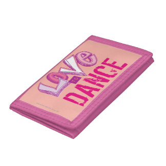 Love Dance Trifold Wallet