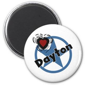 Love Dayton Magnet