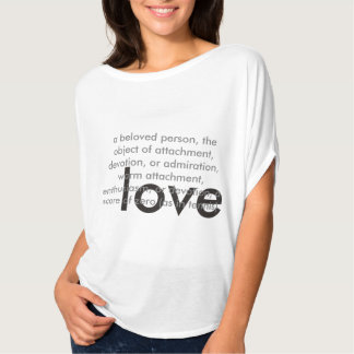 Love Definition Slouchy Tee
