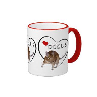 Love Degus Mug