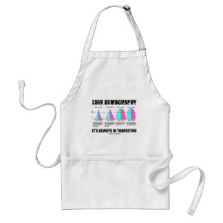 Love Demography It's Always In Transition Apron