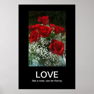 Love Demotivational Poster
