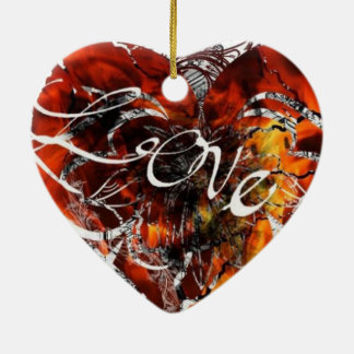 Love Design By Nathan Robert Simonson Christmas Ornament
