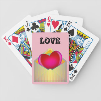 LOVE Design Playing Cards
