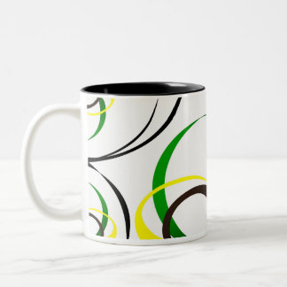 love design Two-Tone coffee mug