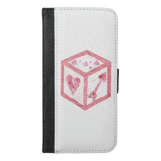 Love Dice I-Phone 6/6s Plus Wallet Case
