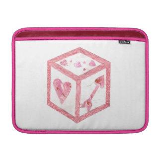 Love Dice Macbook Air Sleeve