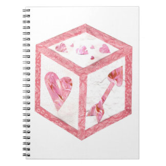 Love Dice No Background Notebook