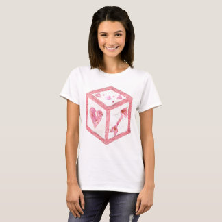 Love Dice No Background Women's T-Shirt