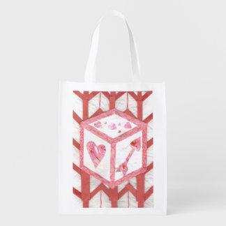 Love Dice Reusable Bag