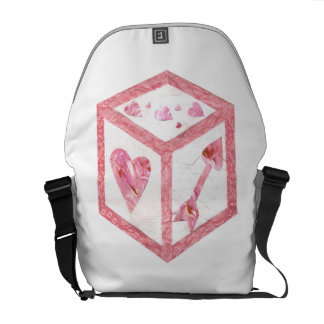 Love Dice Rusksack Courier Bag