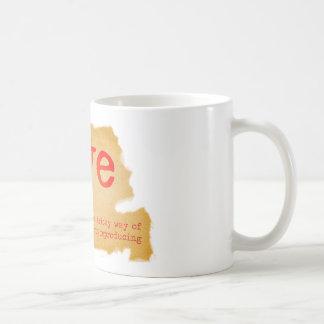 Love dictionary definition coffee mug