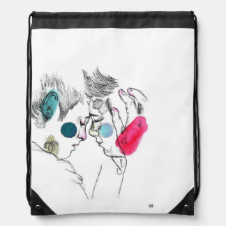 Love does not know sex sport bag backpacks