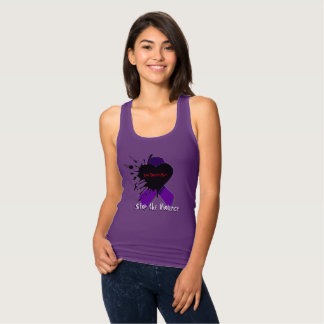 """""""Love Doesn't Hurt...Stop the Violence"""" Tank Top"""