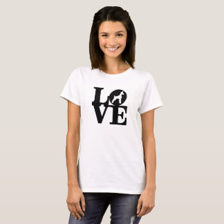 LOVE DOG LOVER CLASSIC WHITE TEE
