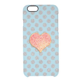 LOVE DOTS -Custom Your Color- iPhone 6/6s Clearly™ Clear iPhone 6/6S Case