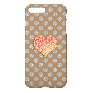 LOVE DOTS -Custom Your Color- iPhone 7 Plus Glossy iPhone 7 Plus Case
