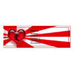 Love Double-Sided Mini Business Cards (Pack Of 20)