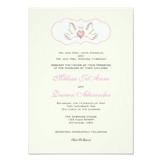 Love Doves Invitation