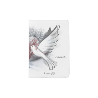 Love Doves Passport Holder