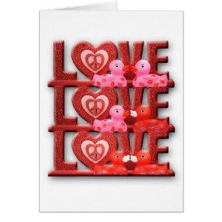 Love Duckies (Blank) Greeting Card
