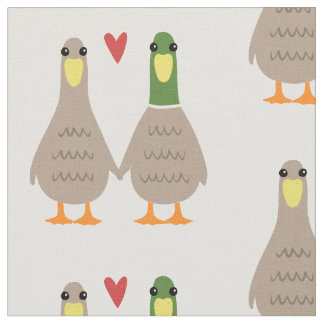Love Ducks Fabric