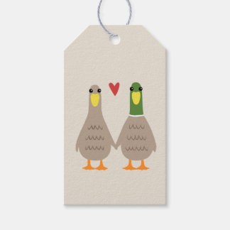 Love Ducks Gift Tags