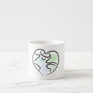 Love Earth Espresso Mug
