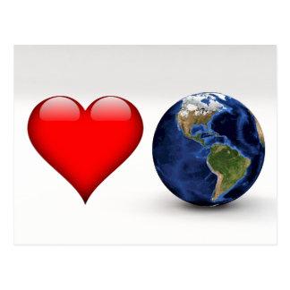 Love Earth Postcard