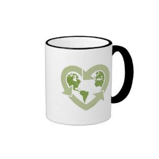 Love Earth Recycle Coffee Mug