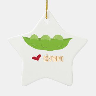 Love Edamame Christmas Ornament