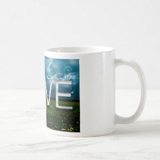 love-elegant basic white mug