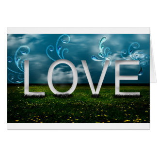 love-elegant greeting card