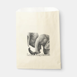 Love Elephants Favour Bags