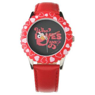 Love Elmo Wrist Watches